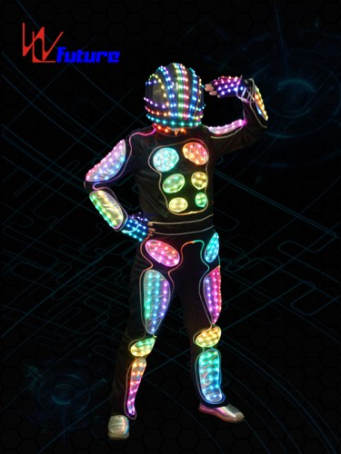 Programable LED Tron Costume Robot suit WL-0152