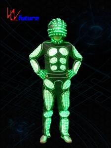 Programable LED Tron Costume Robot suit WL-0152