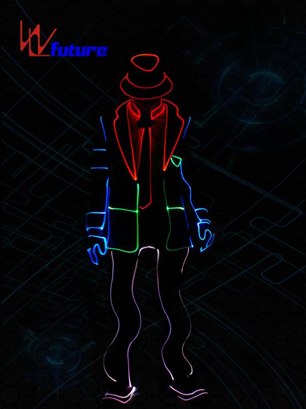 Factory wholesale Led Costumes China - Glowing Michael Jackson dance costumes WL-0161 – Future Creative