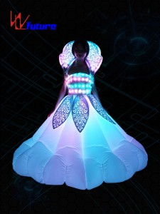 Custom Inflatable LED Dance Costumes,Festival Led Clothing WL-0179