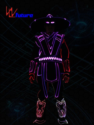 Wireless control raiden costumes with LED, Tron dance clothing for men WL-0233
