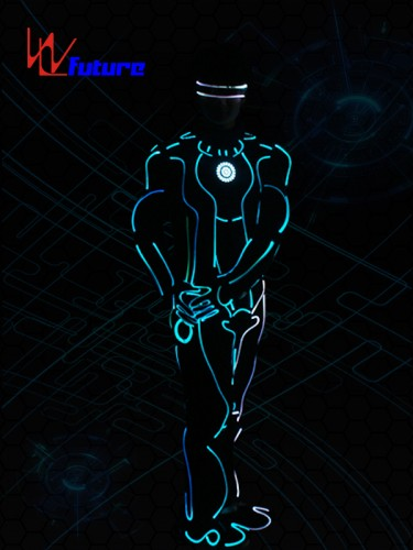Glowing Tron Dance Robot Costumes,Neon Suit Clothing WL-0255