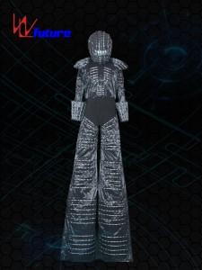 Stilts walker's LED Suit Costume with Helmet WL-078