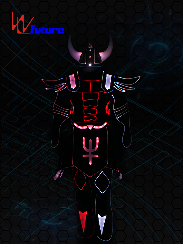 Special Luminous Costume with Helmet,LED Light up Suit WL-0200 Featured Image