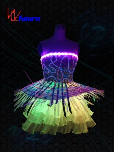 LED & Fiber optic skirt WL-012