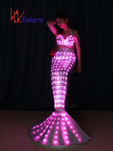 Future Amazing LED light up Mermaid Dress Costumes For Show WL-0189