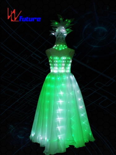 Elegant LED Full Color Evening Dress,Glowing Costumes For Women WL-0198