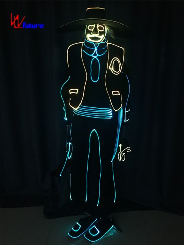 Glow in the dark suit costume for men WL-0199
