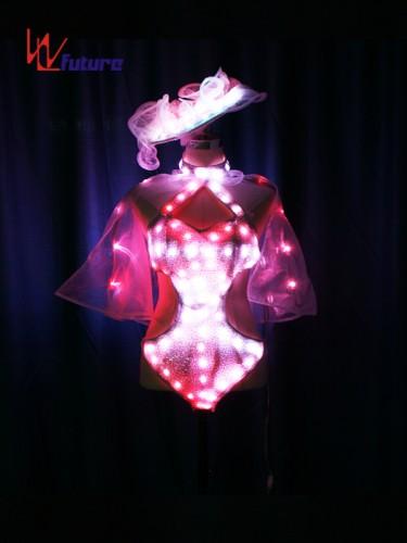 Custom Sexy LED Light Bikini Dance Costumes for Show WL-0213