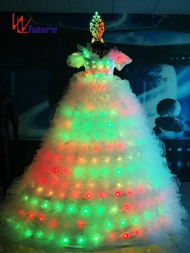 Future Neon Wedding Dresses LED Stitls Walker Costumes For Women WL-022