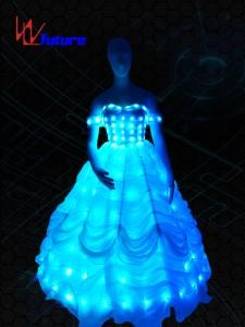 LED Wedding Dress, Light Up Prom Dresses WL-056