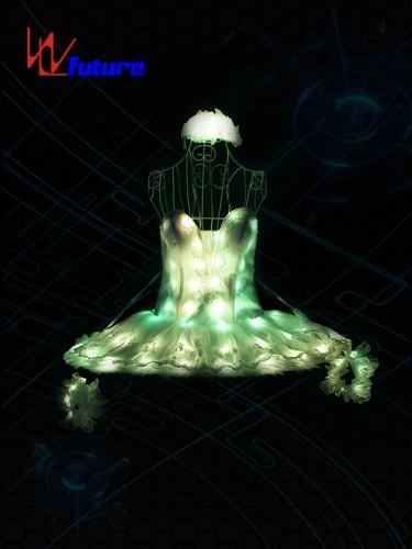 Future Full Color LED Light Up Ballet Tutu Dress Costume WL-0190