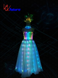 Full Color LED Prom Dresses,Glowing Costumes For Women WL-0198