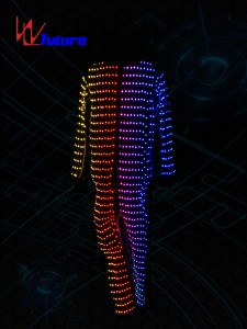 Customized LED Pixel Costume for party WL-0144