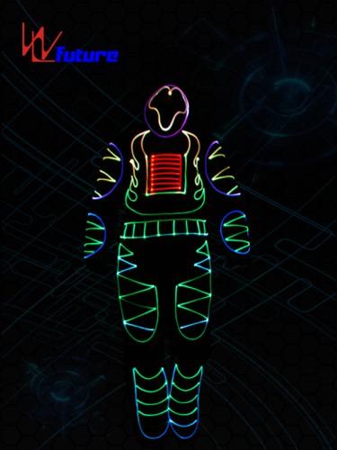 Full Color Optic Fiber Light Costumes WL-092