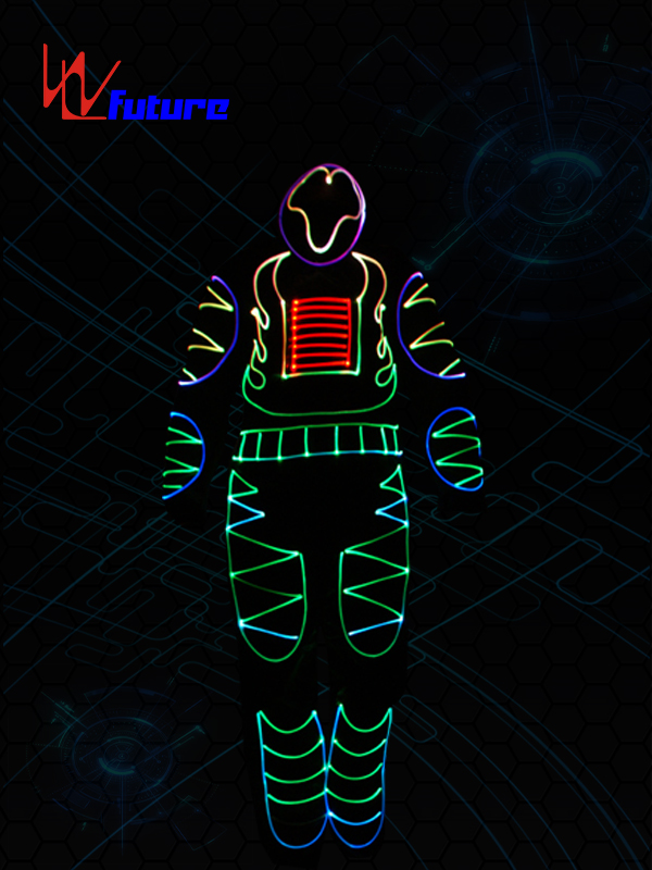 Best quality Led Robot Costume -