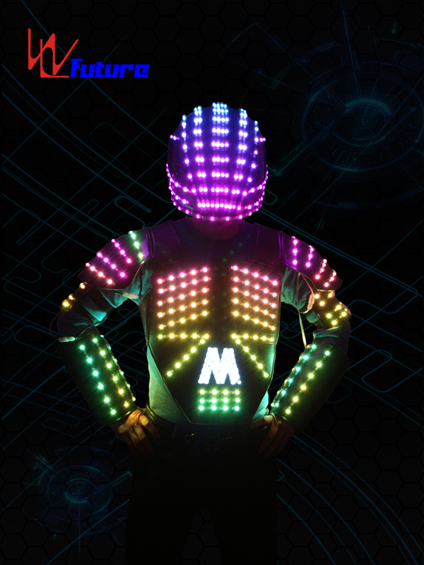 Color-changing LED Vest with Helmet WL-0102 Featured Image