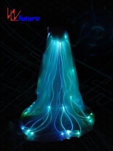 Fiber Optic Long Cloak for Stage show WL-0128