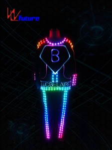 Full color LED Suit Costume WL-0125