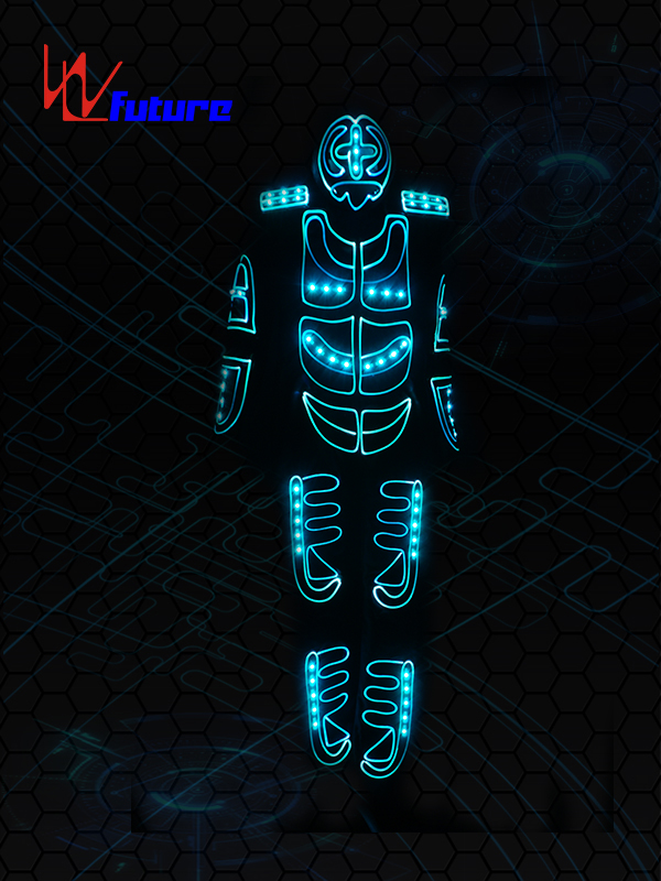 Factory source Led Robot Helmet Mask - Light up Dance Tron Costume with Mask WL-0124 – Future Creative