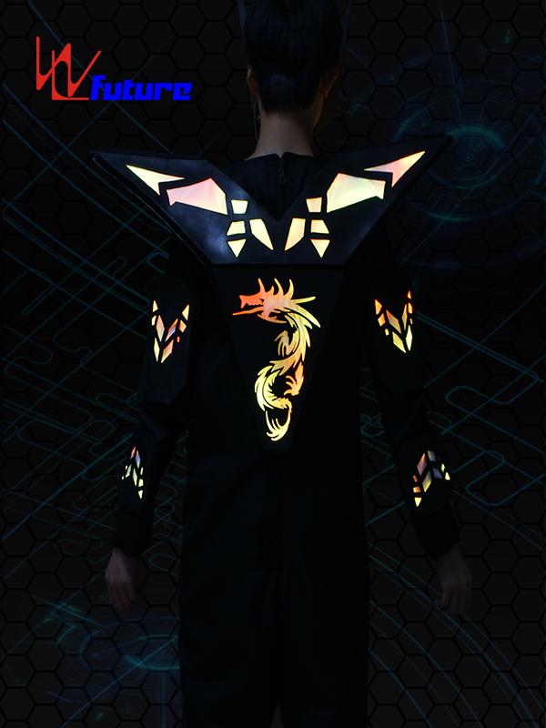 Factory wholesale Stage Costumes Led - Stilts Walker LED Cyborg Robot Warrior Costume WL-0183 – Future Creative