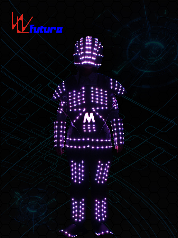 Professional ChinaLight Up Dance Costume - LED Tron Costume with Helmet WL-0159 – Future Creative