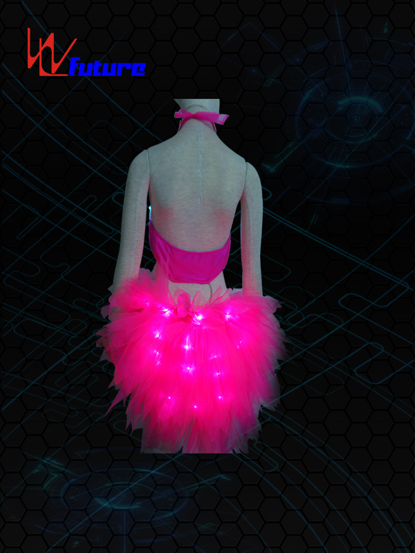 Hot Selling for Remote Controlled Led Umbrella Lights - Hot sexy Fiber optic Bra with Skirt WL-048 – Future Creative