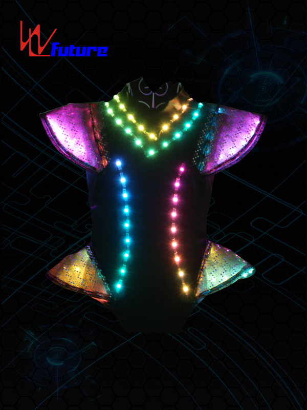 Quality Inspection for Light Up Robot Suit -
