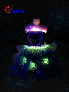 LED dance show costumes for sale WL-011