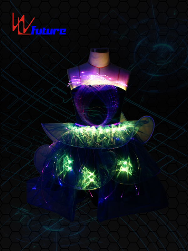 2017 High quality Dance Costumes With Led Lights -