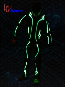 light up tron costume for men WL-099