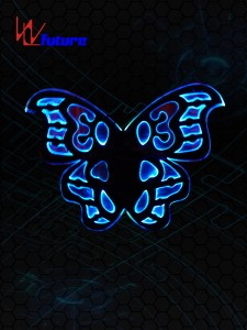 LED light up butterfly wings WL-0100