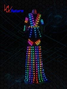 LED stilts walker costume  for women WL-0210