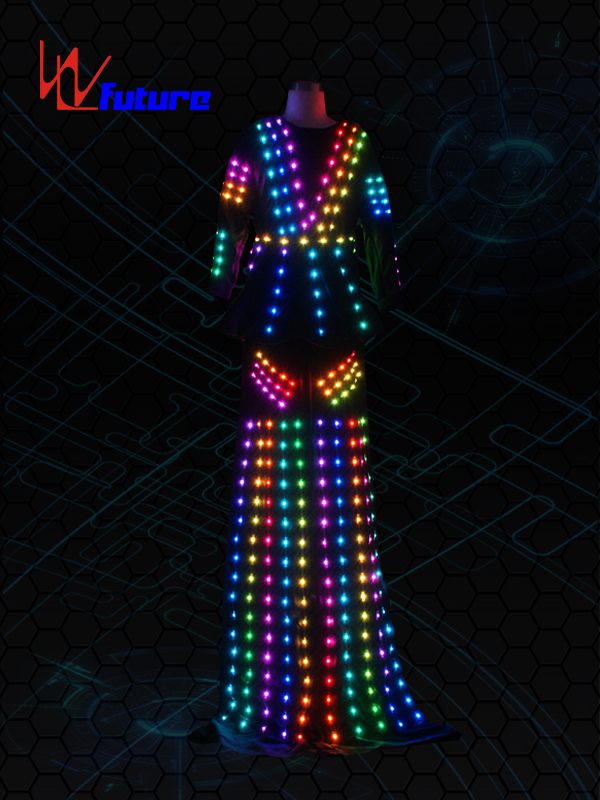 New Fashion Design for Luminous Costumes Control Software -