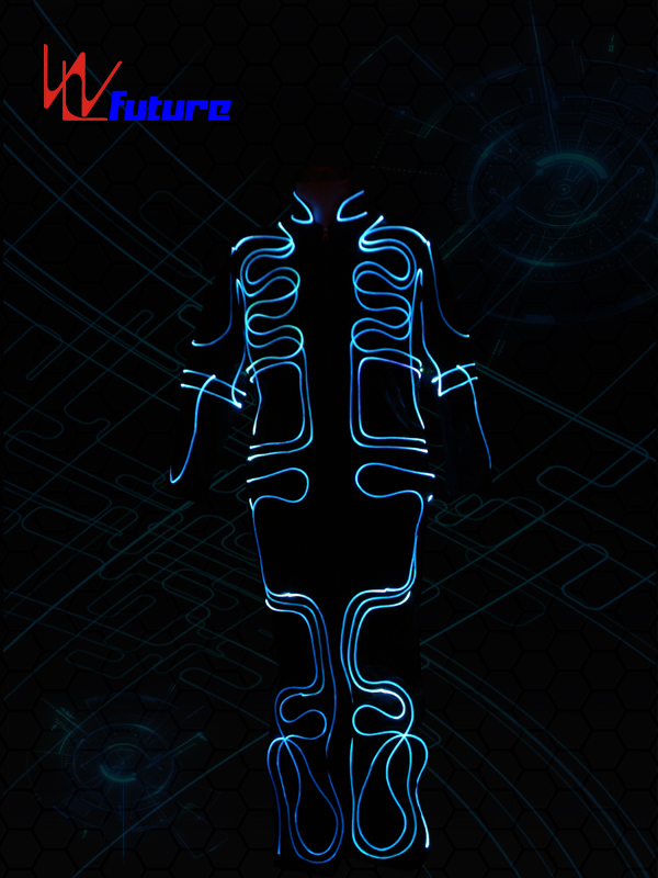 China Factory for Led Costumes Hip Hop Dancers - 433 Wireless Control Fiber Optic Costumes WL-091 – Future Creative