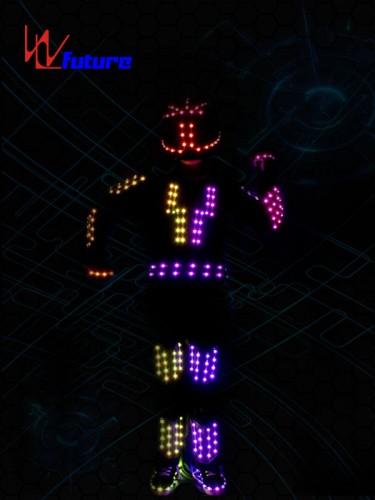 LED Robot Jumpsuit with Helmet WL-0158