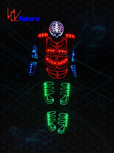 Light up Dance Tron Costume with Mask WL-0124