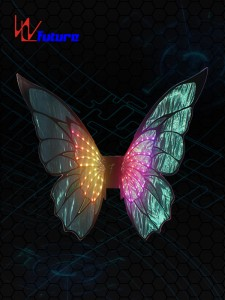LED Light up butterfly wings WL-0227