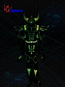 Special Luminous Costume with Helmet,LED Light up Suit WL-0200