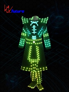 LED samurai suit costume for dance performance WL-0206