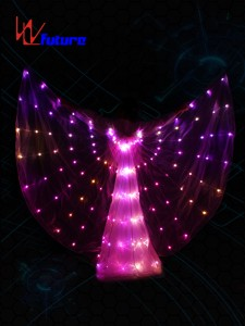 LED light up Isis Wings for Dance Performance WL-0160
