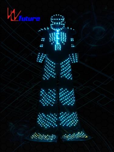 Disco Stilts Walker Led Robot Outfit for Men WL-0109