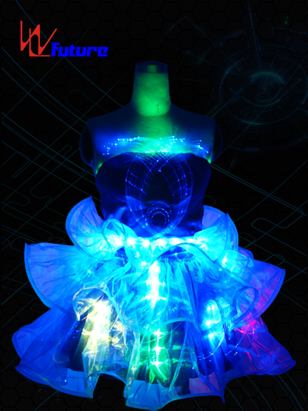 LED Lights Dress Costumes for Dancewear WL-011 Featured Image