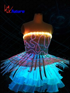 Full Color LED & Fiber optic skirt WL-012