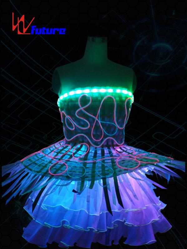 Full Color LED & Fiber optic skirt WL-012 Featured Image