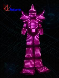 Stilt Walkers' LED Robot Suit Costume WL-0130