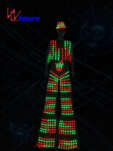 Stilts Walker Led Costume for Men WL-0145