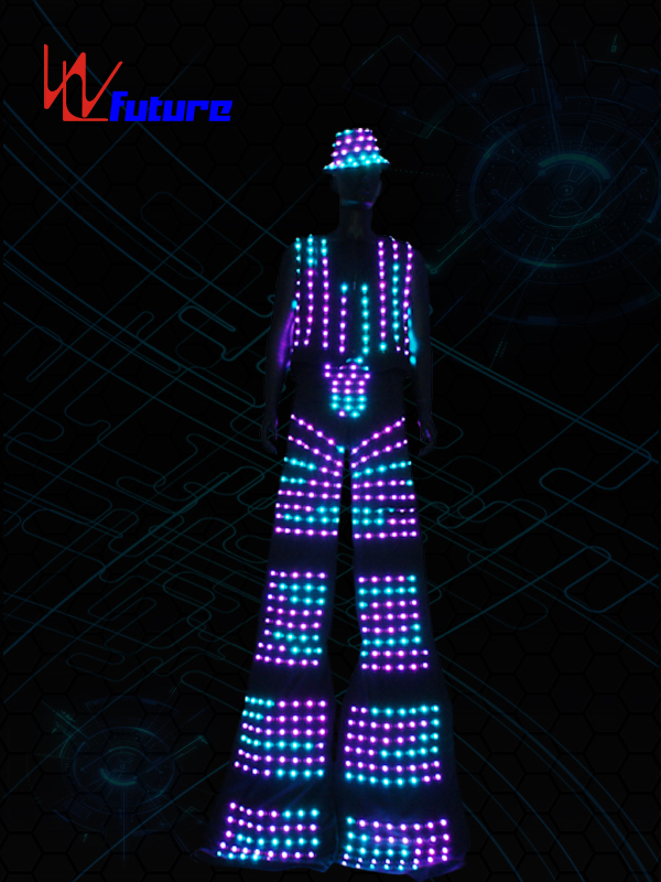 Stilts Walker Led Costume for Men WL-0145 Featured Image