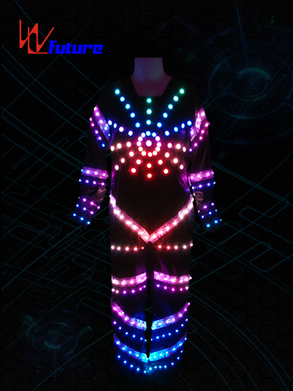Tron Dance Costume with LED Strips WL-015 Featured Image