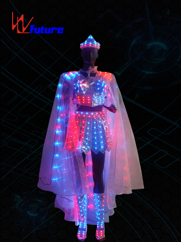 LED Light Dance Costumes,LED Fairy Clothing with Shoes WL-0153 Featured Image